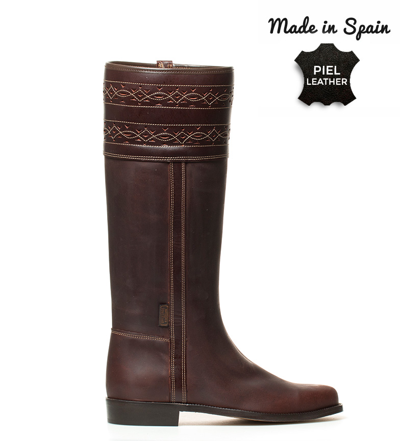 Comprar Herce Valverde Leather boot brown Cartujano