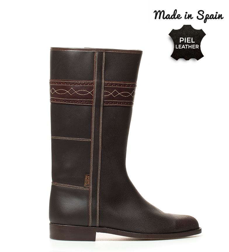 Comprar Herce Valverde Campero brown camper leather boot