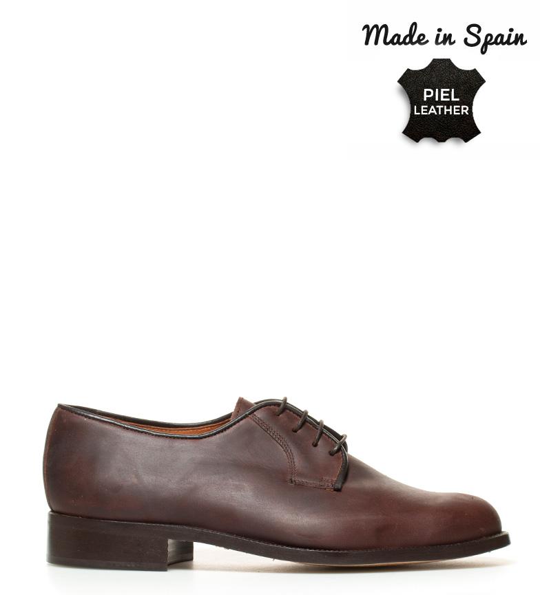 Comprar Herce Valverde Sapatos de couro marrom Blucher