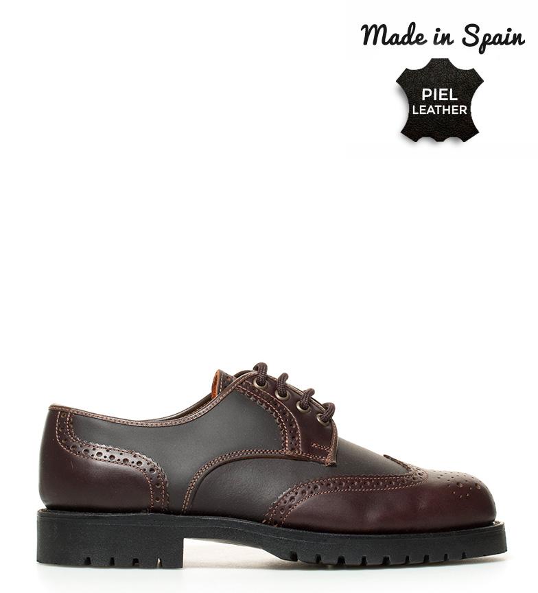 Comprar Herce Valverde English scarpe in pelle marrone