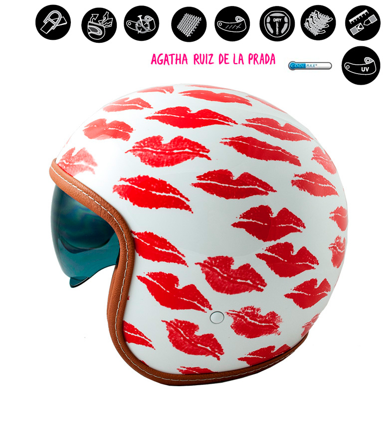 Comprar Lem Helmets Jet helmet LEM Sport Lips white