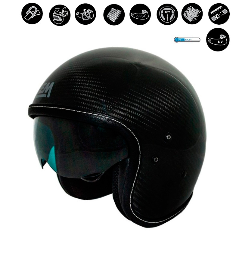 Comprar Lem Helmets LEM Sport Dart jet casque noir