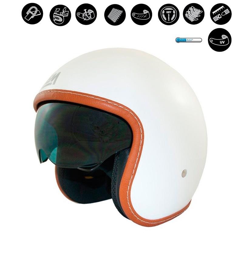 Comprar Lem Helmets Casco jet LEM Sport Solid blanco