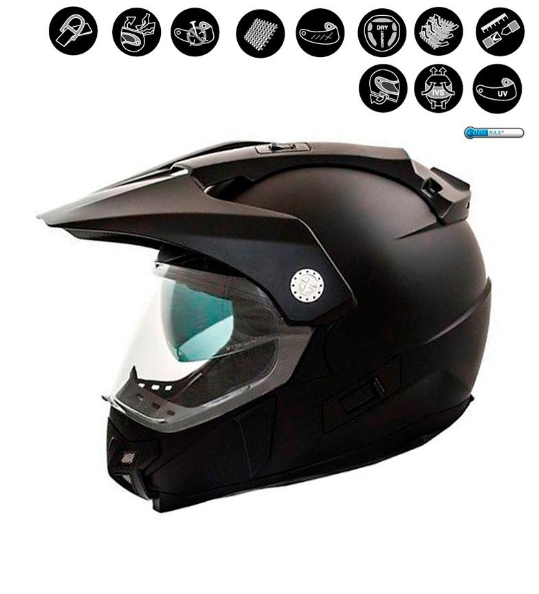 Comprar Lem Helmets Casco Off Road LEM Trail Matnegro