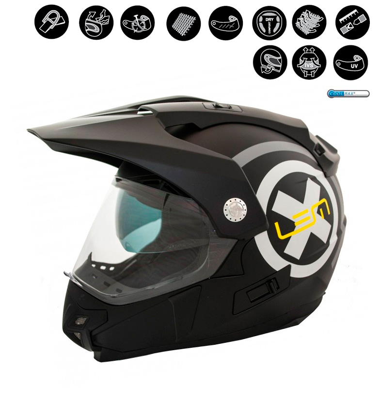 Comprar Lem Helmets Casco Off Road LEM Trail X nero