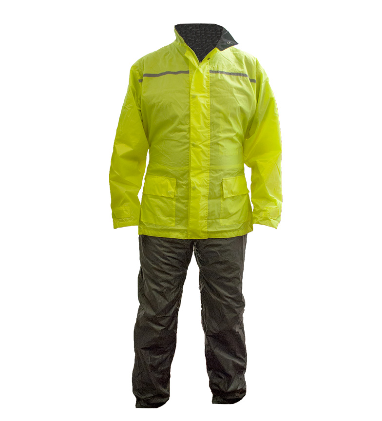 Comprar Lem Wear Conjunto de chuva , preto, amarelo