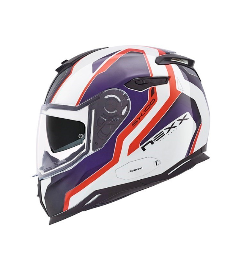 Comprar Nexx Helmets Full-face helmet Urban SX.100 Blast white, red, blue