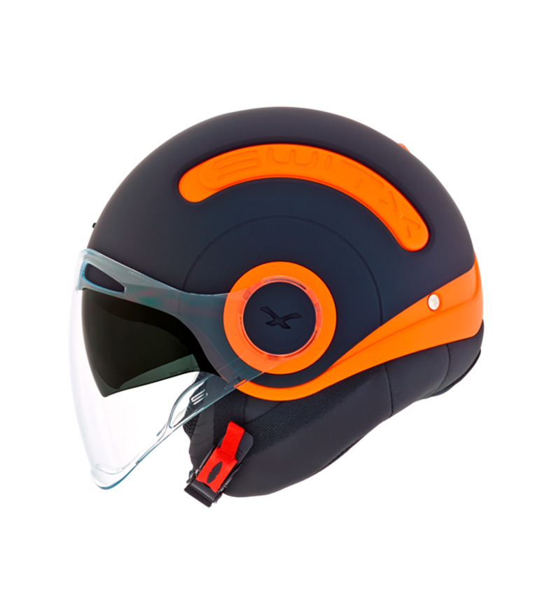 Comprar Nexx Helmets Capacete Switx SX.10 preto, laranja fosco