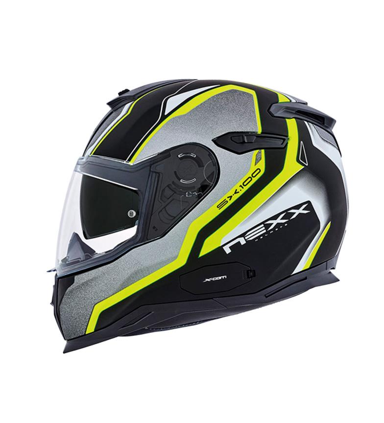 Comprar Nexx Helmets Casco integral línea Urban SX.100 Blast  negro, amarillo mate