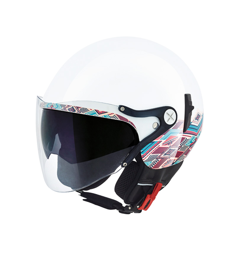 "dfd9d9c8 Comprar Nexx Helmets Casco jet SX.60 VF Iris blanco - your Motorcycle  online store. """