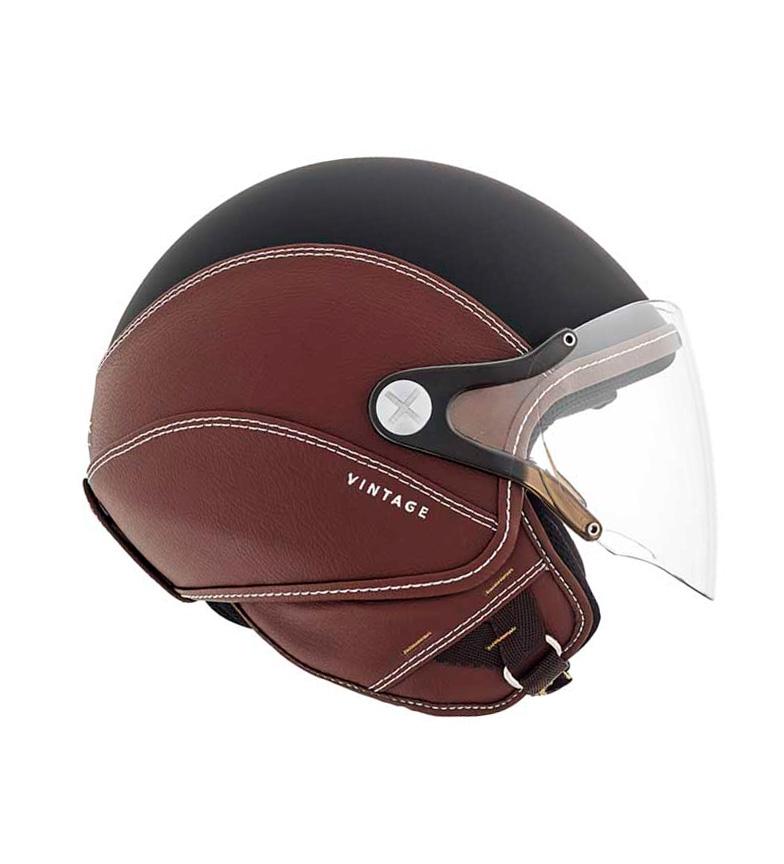 Comprar Nexx Helmets Casco jet SX.60 Vintage 2 nero, marrone opaco