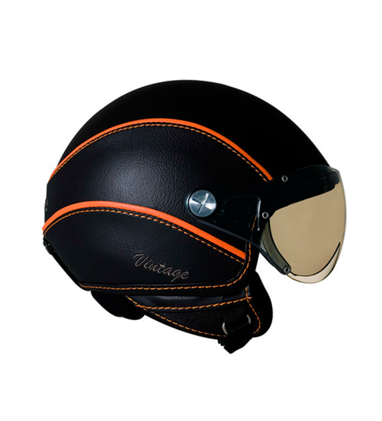 Comprar Nexx Helmets Capacete jet SX.60 Vintage 2 preto, laranja fosco