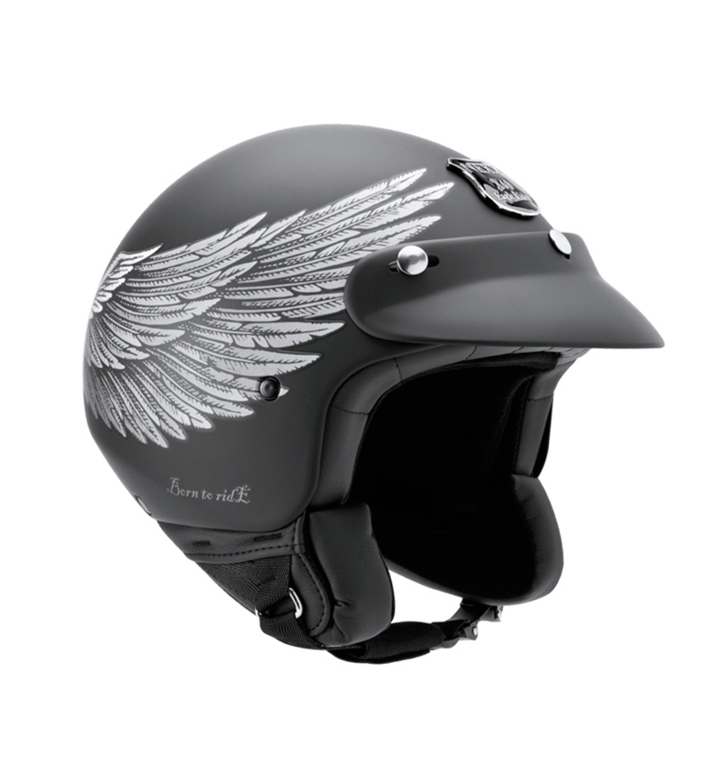 Comprar Nexx Helmets Capacete Jet X.60 Eagle Rider preto, prata mate