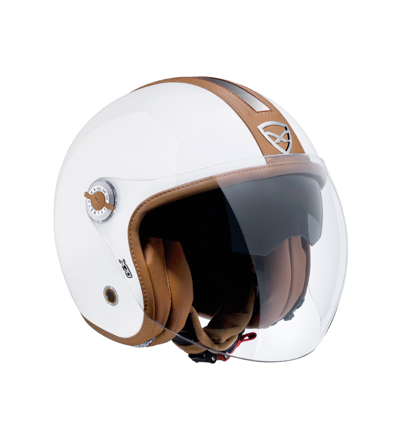 Comprar Nexx Helmets Casco jet X.70 Groovy blanco, camel