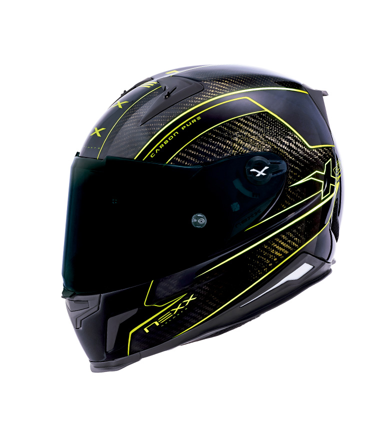 Comprar Nexx Helmets Integral helmet X.R2 Carbon Pure black, yellow