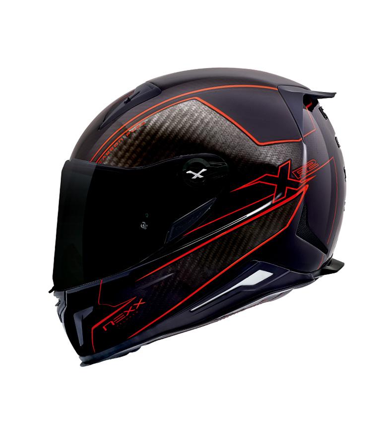 Comprar Nexx Helmets Casco integral X.R2 Carbon Pure negro, rojo