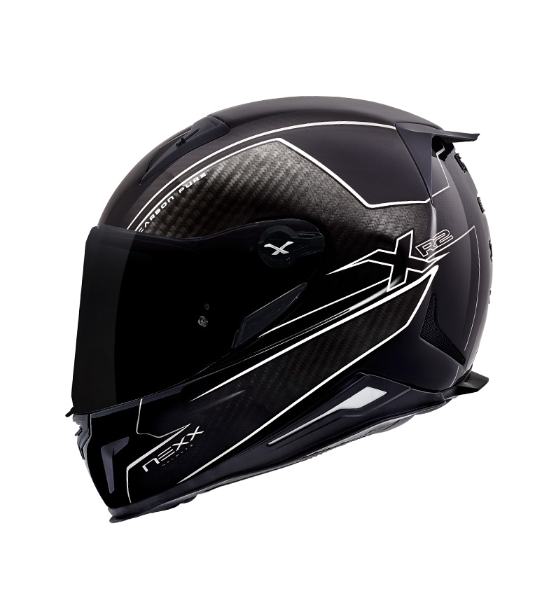Comprar Nexx Helmets Casco integral X.R2 Carbon Pure negro, blanco