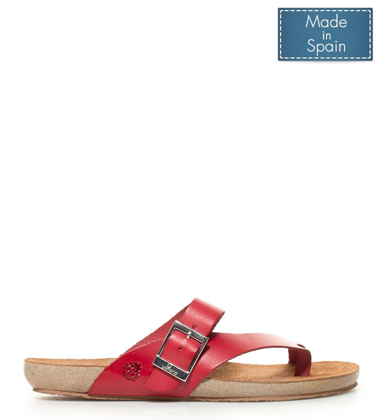 Comprar Yokono Sandalias de piel Ibiza 013 rojo