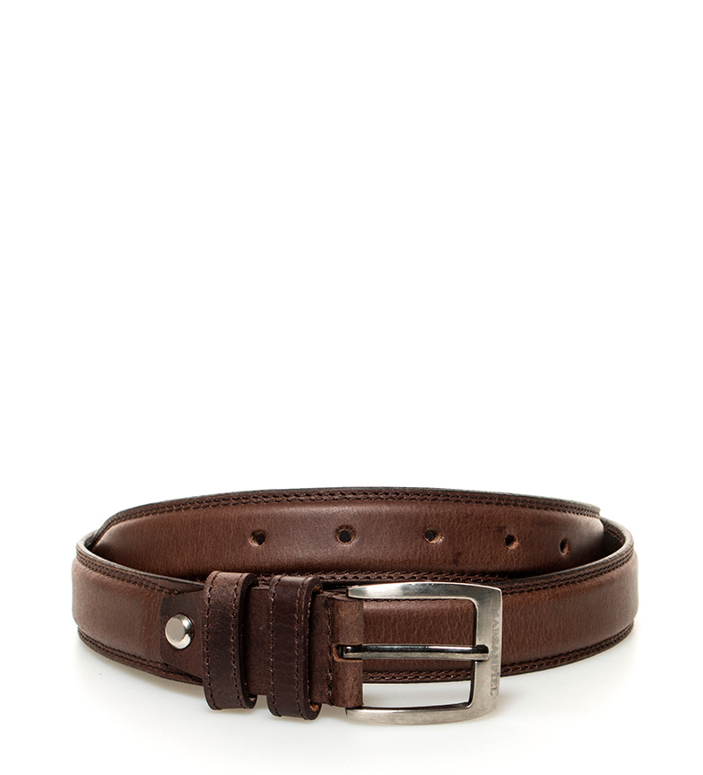 Comprar Marsan Piel Cinturón de piel Caravena marrón