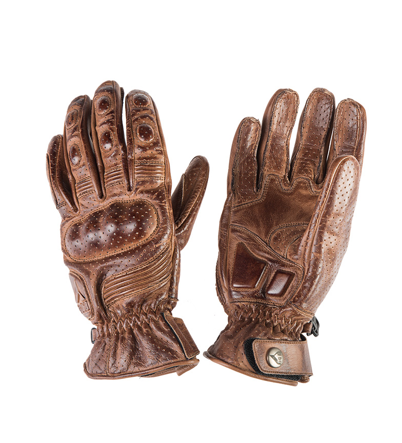 Comprar By City Leather Gloves Retro II brown