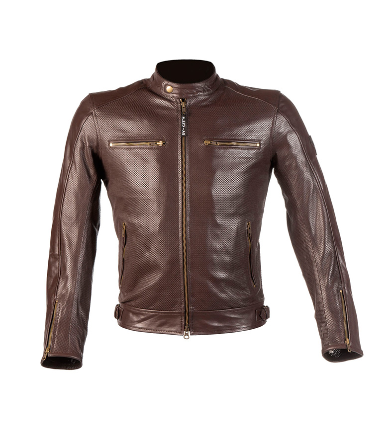 Comprar By City Giacca di pelle Street brown