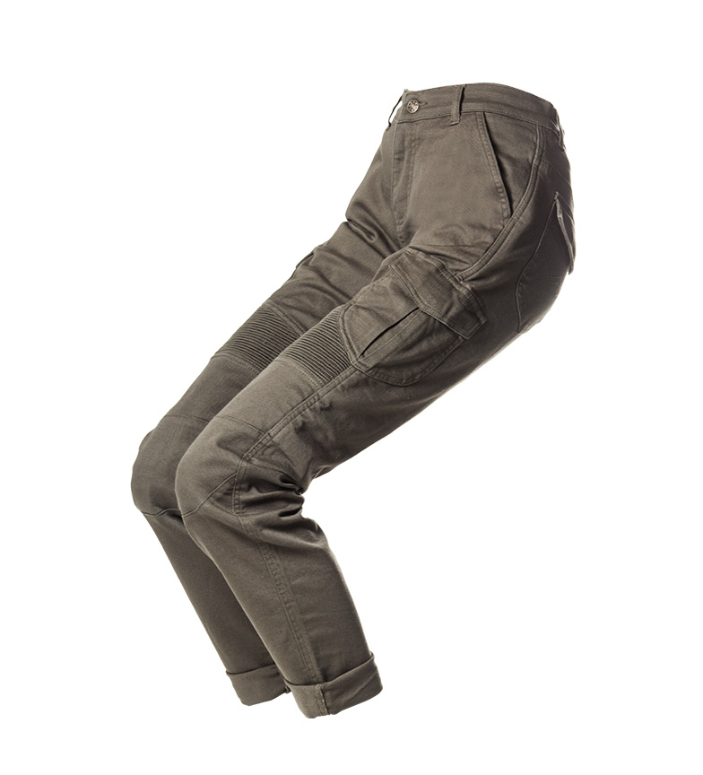 Comprar By City Pantalones Mixed Lady kaki