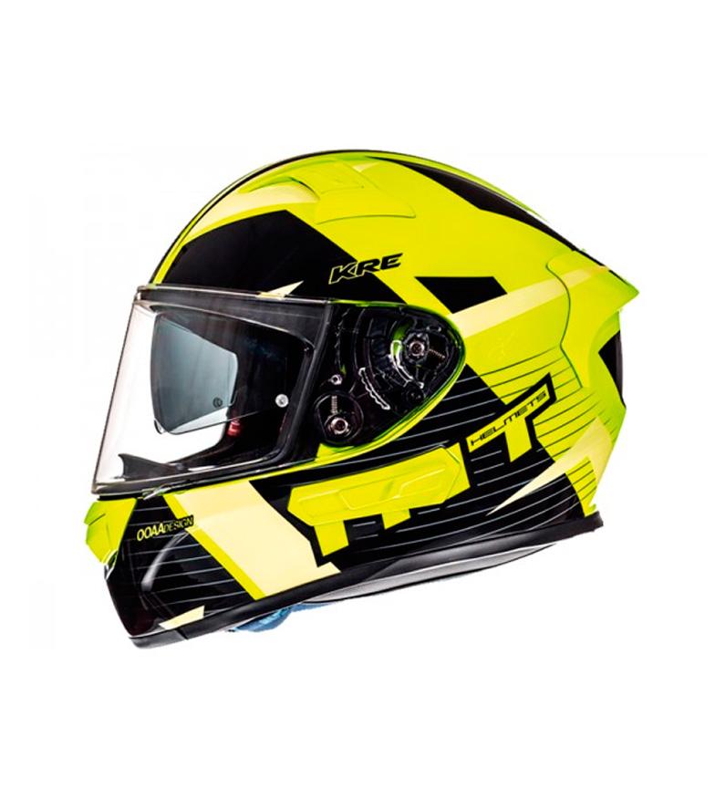 Comprar MT Helmets Casco integral MT KRE Rad amarillo, antracita