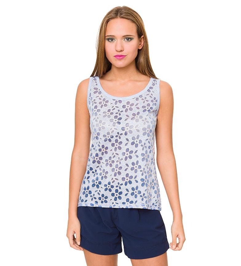 Comprar Azura Floral azul Top
