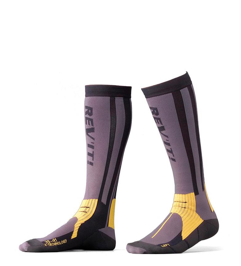 Comprar REV´IT! Gray summer socks, yellow