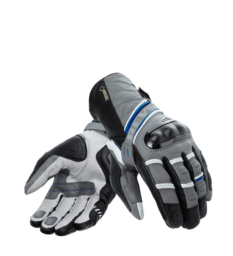 Comprar REV´IT! Guanti in pelle Dominator GTX neri, grigi, blu