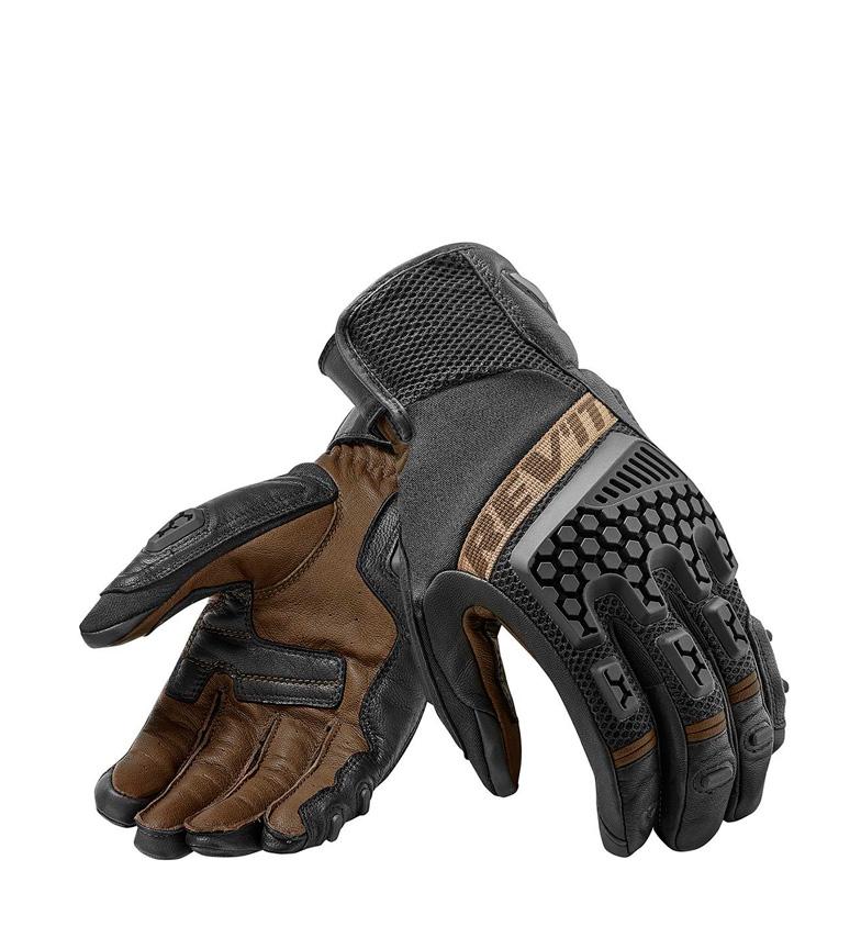 Comprar REV´IT! Guantes de piel Sand 3 negro, marrón