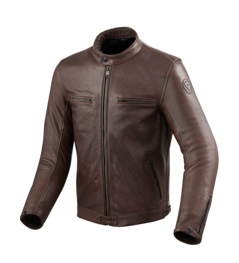 Compar REV´IT! Chaqueta de piel Gibson marrón