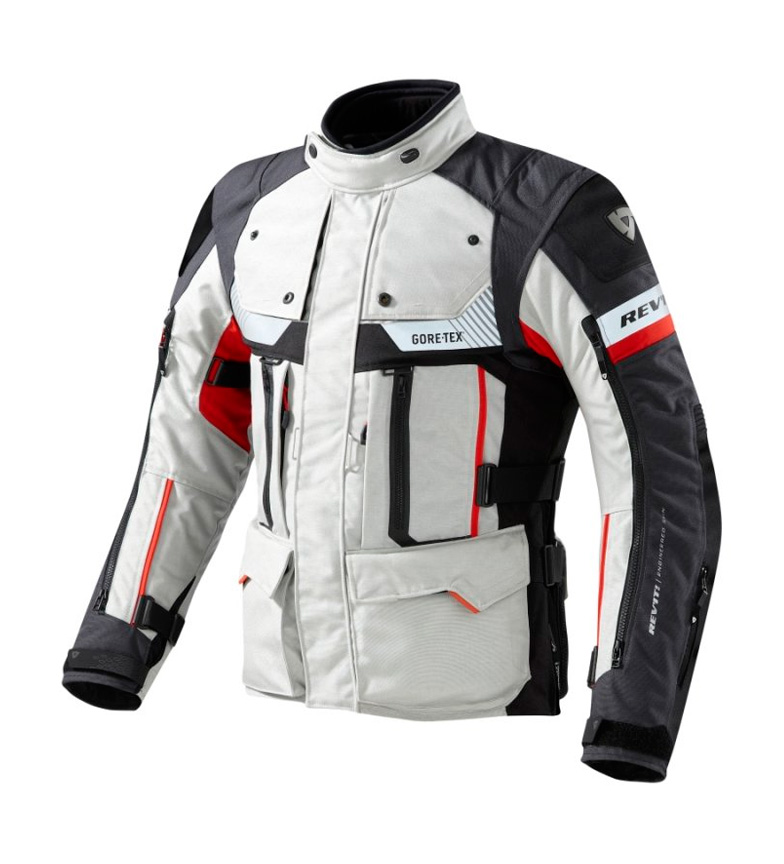 Comprar REV´IT! Defender Pro GTX jacket gray, red
