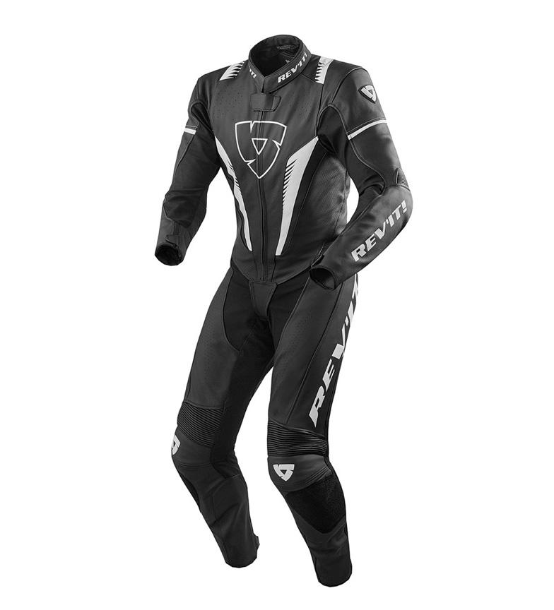 Comprar REV´IT! Mono de cuero Venom negro, blanco