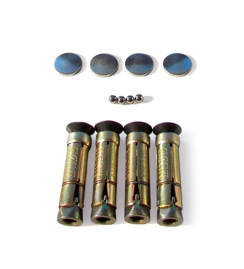 Comprar Bunker Kit de anclaje BUNKER -4 tornillos-