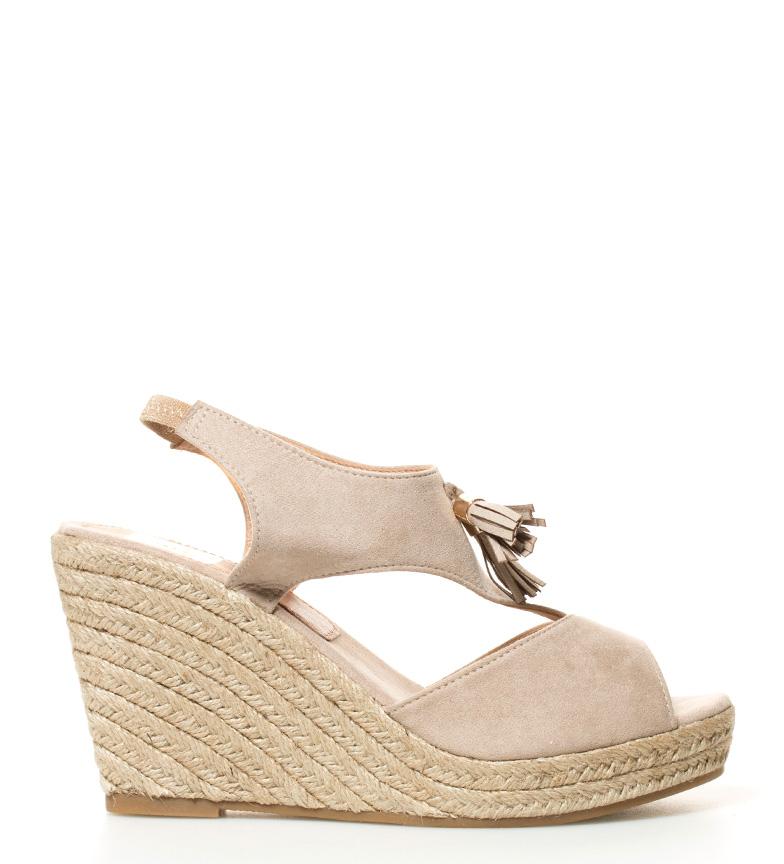 Comprar Elio Berhanyer Sandals Nuria beige-Wedge height: 10cm-
