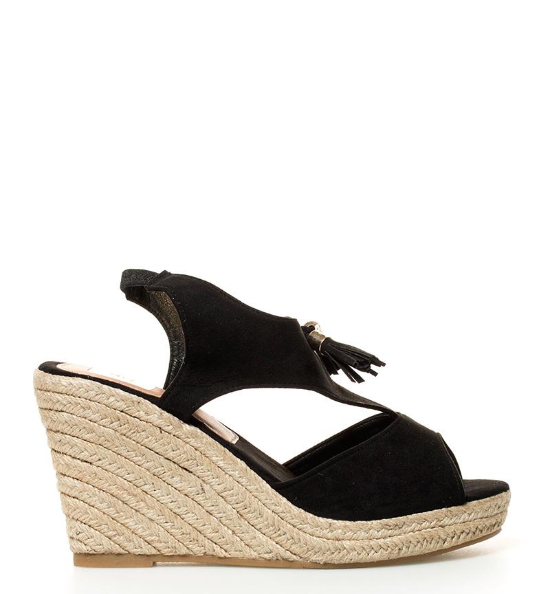 Comprar Elio Berhanyer Sandals Nuria black-Wedge height: 10cm-