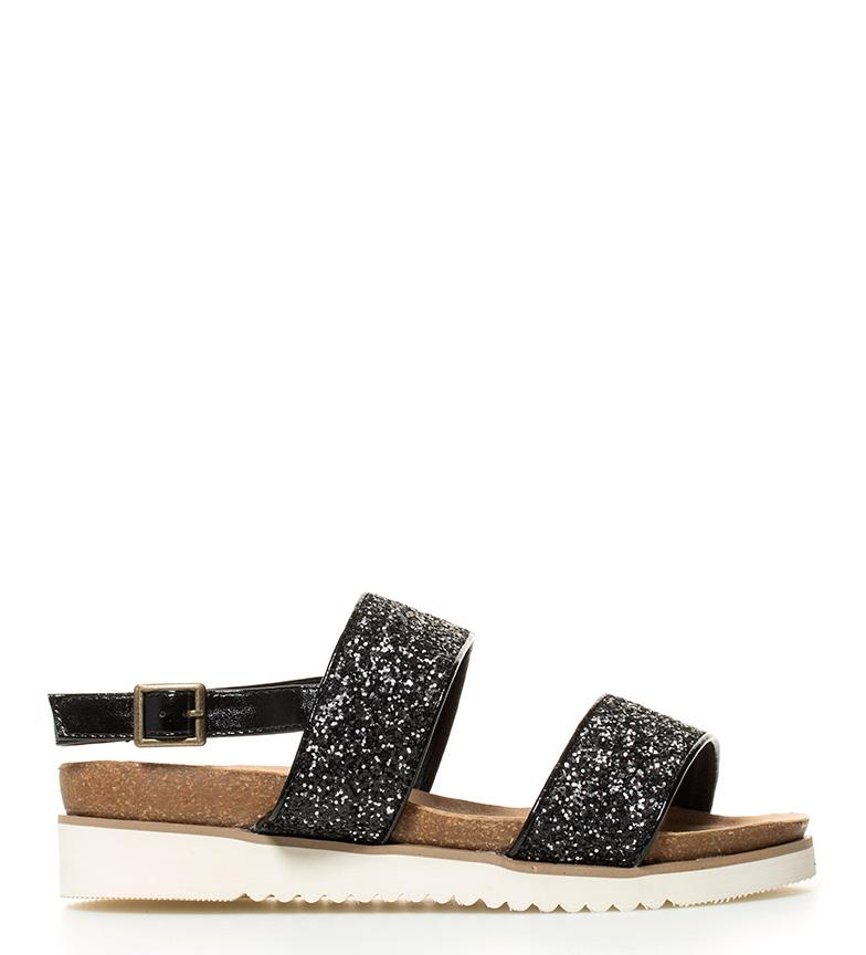 Comprar Elio Berhanyer Black Babila sandals - Sole: 4.5cm-
