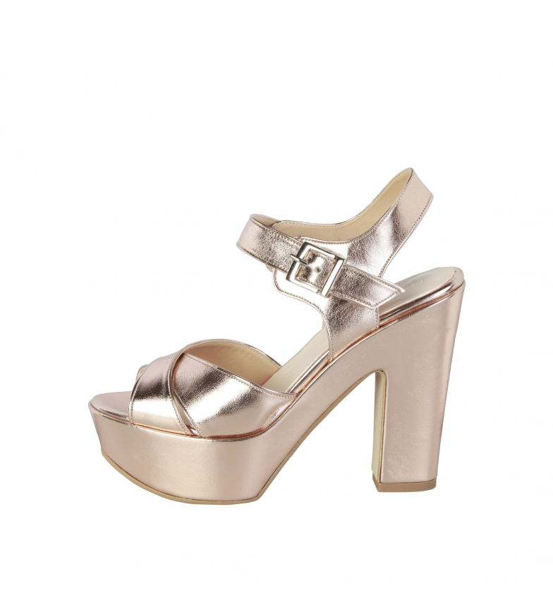 Comprar Made In Italia Sandals Enele bronce -Heel height: 12,5cm-