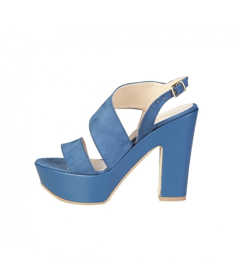 Comprar Made In Italia Blue Fiammetta sandals -Heel height: 12.5cm-