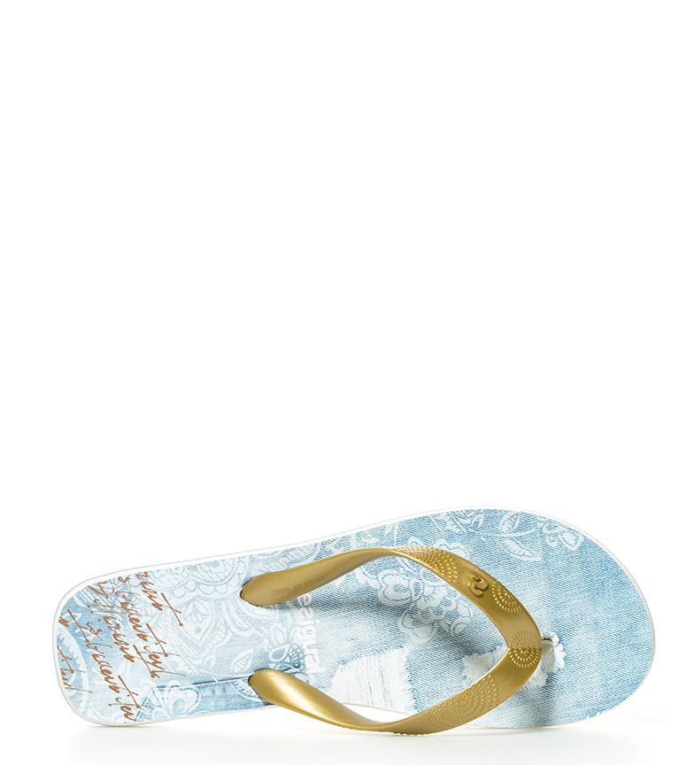 Desigual Flip flop Luxury Jeans azul