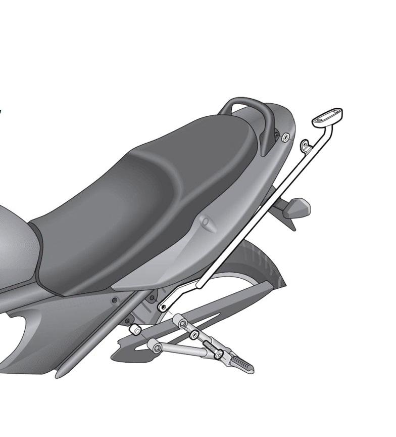 Comprar Shad Système de fixation SUZUKI BANDIT 650 '07 -'09