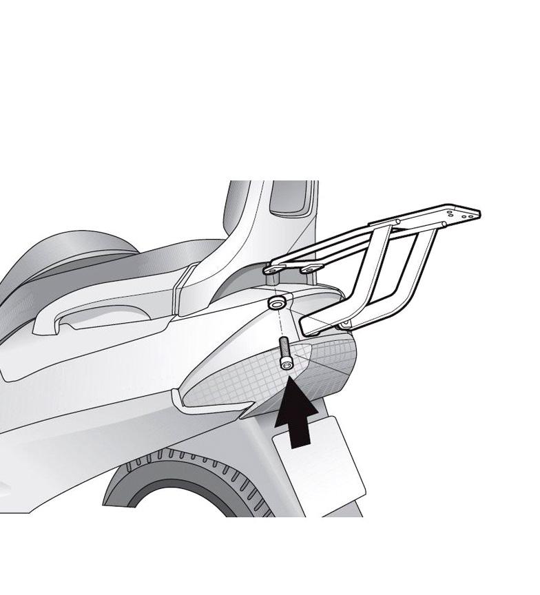 Comprar Shad Fastening system SUZUKI BURGMAN 250 '98