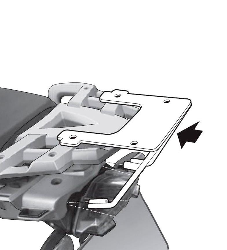 Comprar Shad Fixing system BMW R1200 GS'12