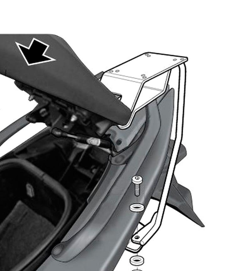 Comprar Shad TOP MASTER YAMAHA T-MAX 500 08 système de fixation