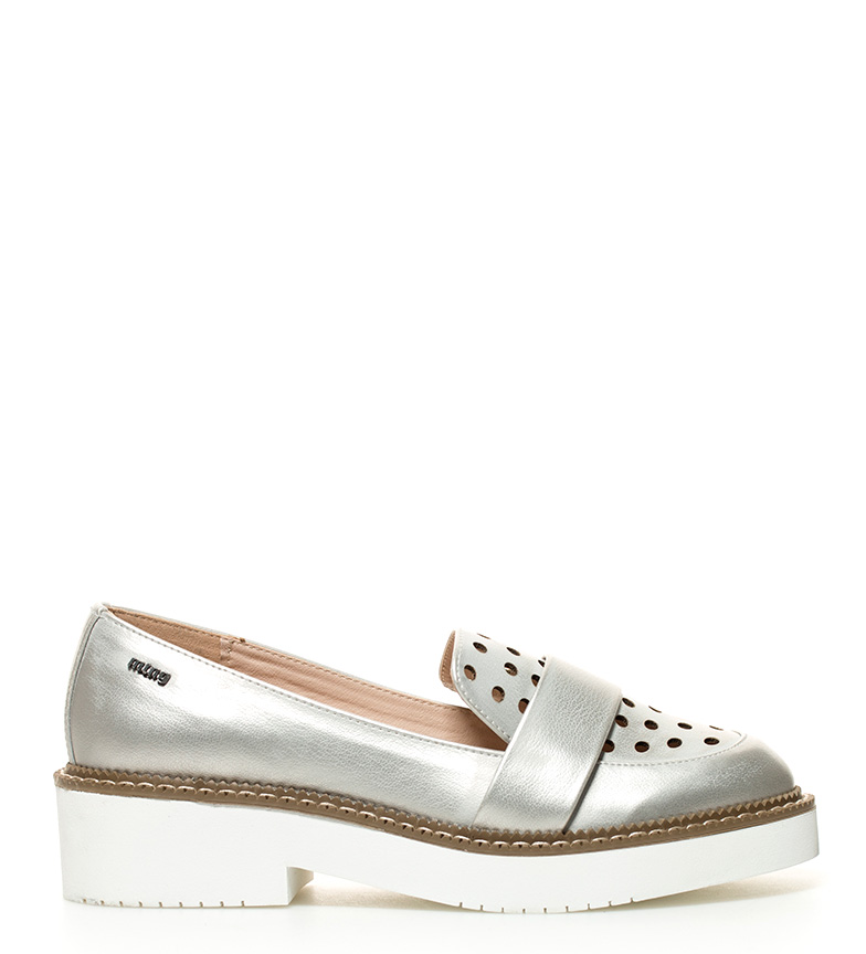 Comprar Mustang Chaussures Paty semelles argent Taille: 4,5cm-