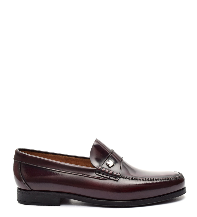 Comprar G&P Cobbler Bobby Burgundy Leather Loafers