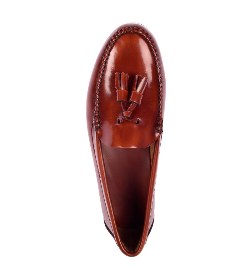 marrón Cobbler G Kailan Mocasines de amp;P piel Ag4Y10x