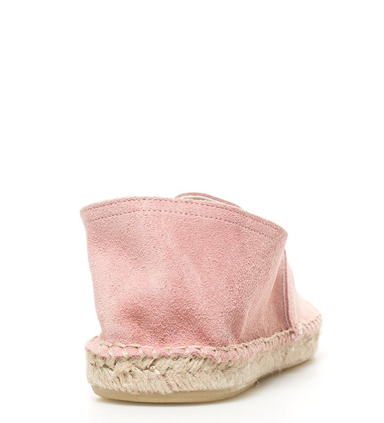 Alpargata de Mustang rosa Delhia piel aUqc7Yx