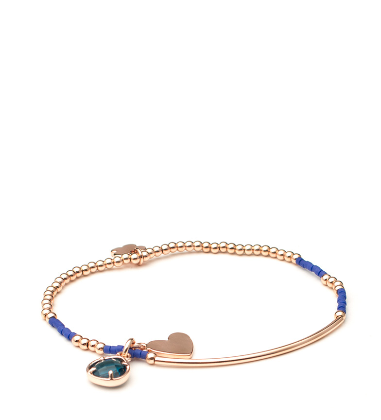 Comprar Agatha Ruiz De La Prada Stela gold bracelet pink, navy
